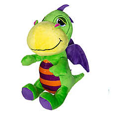 "Toys ""R"" Us® Pets Dragon Dog Toy - Plush, Squeaker (COLOR VARIES)"
