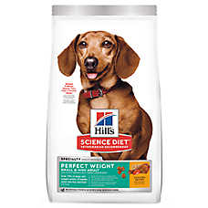 Hill's® Science Diet® Perfect Weight Small & Toy Breed Adult Dog Food - Chicken