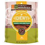 Simply Nourish™ Grain Free Gluten Free Chewy Duck Jerky Fillets Dog Treat