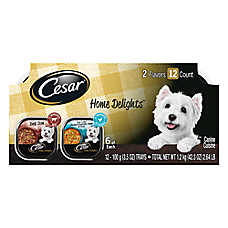 Cesar® Home Delights Variety Pack Dog Food