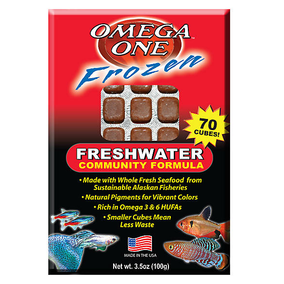 Omega one freshwater frozen fish food fish food petsmart for Best frozen fish to buy at grocery store