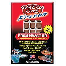 Omega™One Freshwater Frozen Fish Food