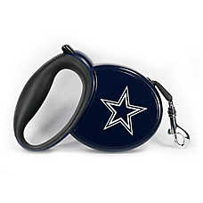 Dallas Cowboys NFL Retractable Dog Leash