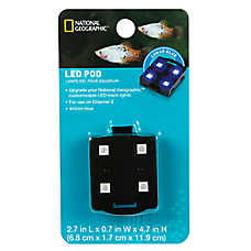National Geographic™ Aquarium LED POD