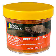 National Geogrpahic™Omnivore Gel Reptile Treats