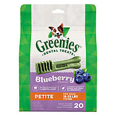 GREENIES® Petite Dental Dog Treat - Blueberry