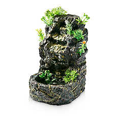 National Geographic™ Tropical Waterfall Terrarium Fountain