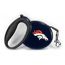 Denver Broncos NFL Retractable Dog Leash