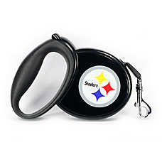 Pittsburgh Steelers NFL Retractable Dog Leash