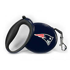 New England Patriots NFL Retractable Dog Leash