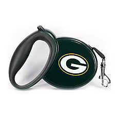 Green Bay Packers NFL Retractable Dog Leash