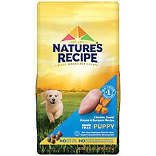 Nature's Recipe® Grain Free Chicken, Sweet Potato & Pumpkin Puppy Dog Food