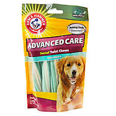ARM & HAMMER™ Advanced Care Mint Flavor Dental Twist Dog Chews
