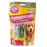 ARM & HAMMER™ Advanced Care Mint Flavor Tartar Control Dental Brush Dog Chew
