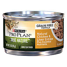 Purina® Pro Plan® TRUE NATURE™ Adult Cat Food - Grain Free, Natural, Chicken & Liver