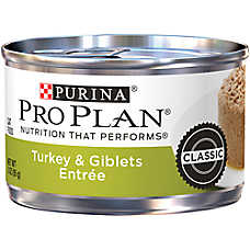 Purina® Pro Plan® Savor Turkey & Giblets Adult Ground Cat Food