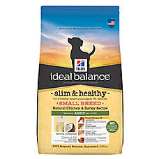 Hill's® Ideal Balance™ Slim & Healthy Chicken & Barley Small Breed Adult Dog Food