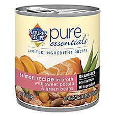 Natures's Recipe® Pure Essentials™ Limited Ingredient Recipe Dog Food - Grain Free, Salmon