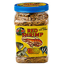 Zoo Med™ Sun-Dried Red Shrimp