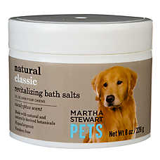 Martha Stewart Pets® Eucalyptus Scent Revitalizing Dog Bath Salts