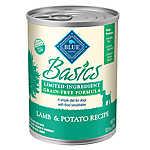BLUE Basics® Limited Ingredient Grain Free Lamb & Potato Dog Food