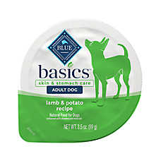 BLUE Basics® Limited Ingredient Grain Free Lamb & Potato Small Breed Dog Food