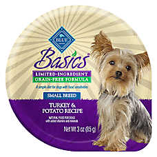 BLUE Basics® Limited Ingredient Grain Free Turkey & Potato Small Breed Dog Food