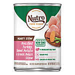 NUTRO™ Hearty Stews Adult Dog Food - Natural, Chunky Chicken & Turkey Stew