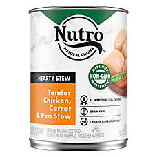 NUTRO™ Hearty Stews Adult Dog Food - Natural, Healthy Chicken & Rice Stew