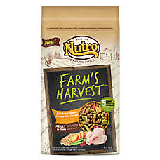 NUTRO® Farm's Harvest Chicken & Whole Brown Rice Adult Dog Food