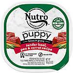 NUTRO™ Puppy Food - Natural, Tender Beef & Vegetable