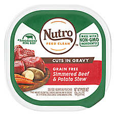 NUTRO® Adult Dog Food - Natural, Beef & Potato Stew