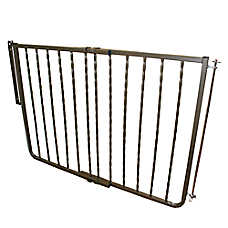Cardinal Gates Wrought Iron Decor Pet Gate