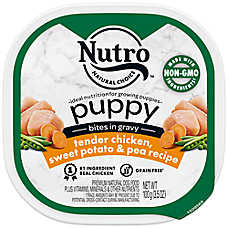 NUTRO® Chicken, Brown Rice & Oatmeal Stew Small Breed Puppy Food