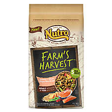 NUTRO® Farm's Harvest Salmon & Brown Rice Adult Dog Food