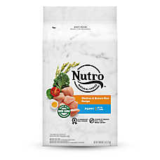 NUTRO® Chicken, Brown Rice & Oatmeal Puppy Food