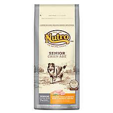 NUTRO® Senior Dog Food - Natural, Chicken, Brown Rice & Oatmeal