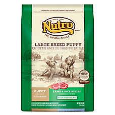 NUTRO® Lamb & Rice Large Breed Puppy Food