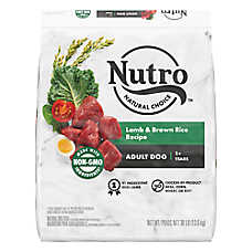 NUTRO™ Wholesome Essentials Adult Dog Food - Natural, Non-GMO, Lamb & Rice