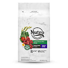 NUTRO™ Wholesome Essentials Small Bites Adult Dog Food - Natural, Non-GMO, Lamb & Rice