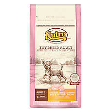 NUTRO® Chicken, Brown Rice & Oatmeal Toy Breed Adult Dog Food
