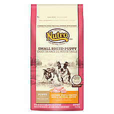 NUTRO® Chicken, Brown Rice & Oatmeal Small Breed Puppy Food