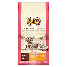 NUTRO® Chicken, Brown Rice & Oatmeal Small Breed Adult Dog Food