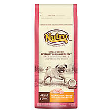 NUTRO® Chicken, Brown Rice & Oatmeal  Weight Management Small Breed Adult Dog Food