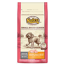 NUTRO® Chicken, Brown Rice & Oatmeal Small Breed Senior Dog Food