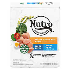 NUTRO® Chicken, Brown Rice & Oatmeal Large Breed Puppy Food