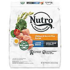 NUTRO® Large Breed Adult Dog Food - Natural, Chicken, Brown Rice & Oatmeal