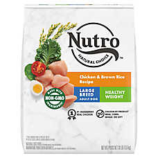 NUTRO® Chicken, Brown Rice & Oatmeal Weight Management Large Breed Adult Dog Food