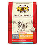NUTRO® Large Breed Senior Dog Food - Natural, Chicken, Brown Rice & Oatmeal