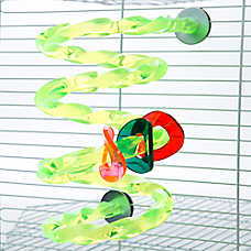 Grreat Choice® Spiral Perch Bird Toy